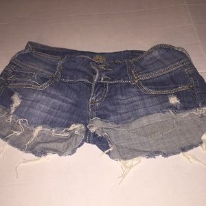Short shorts Size 7